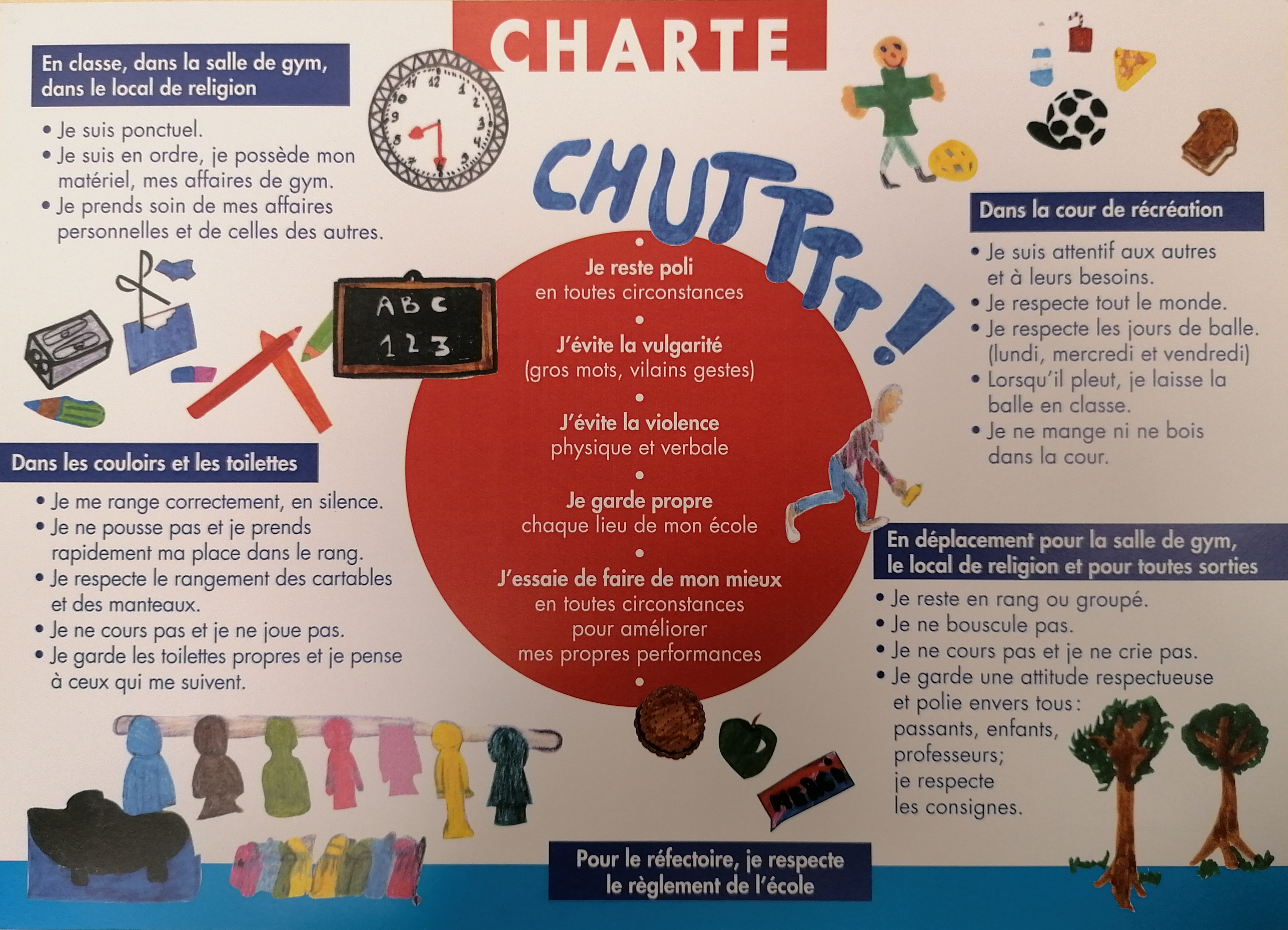 Nos Valeurs Ecole Chapelle Aux Champs